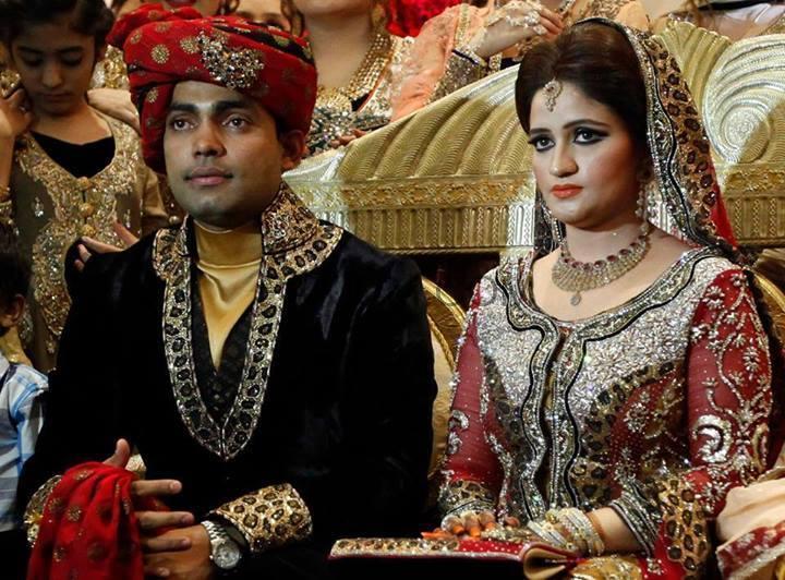 Umar Akmal got married to Abdul Qadir's Daughter (Wedding ...
